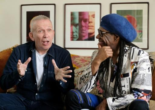 """Fashion Designer Jean Paul Gaultier, left, and Record Producer Nile Rodgers are collaborating on a genre-blurring """"Fashion Freak Show"""" to open on October 2 in Paris"""