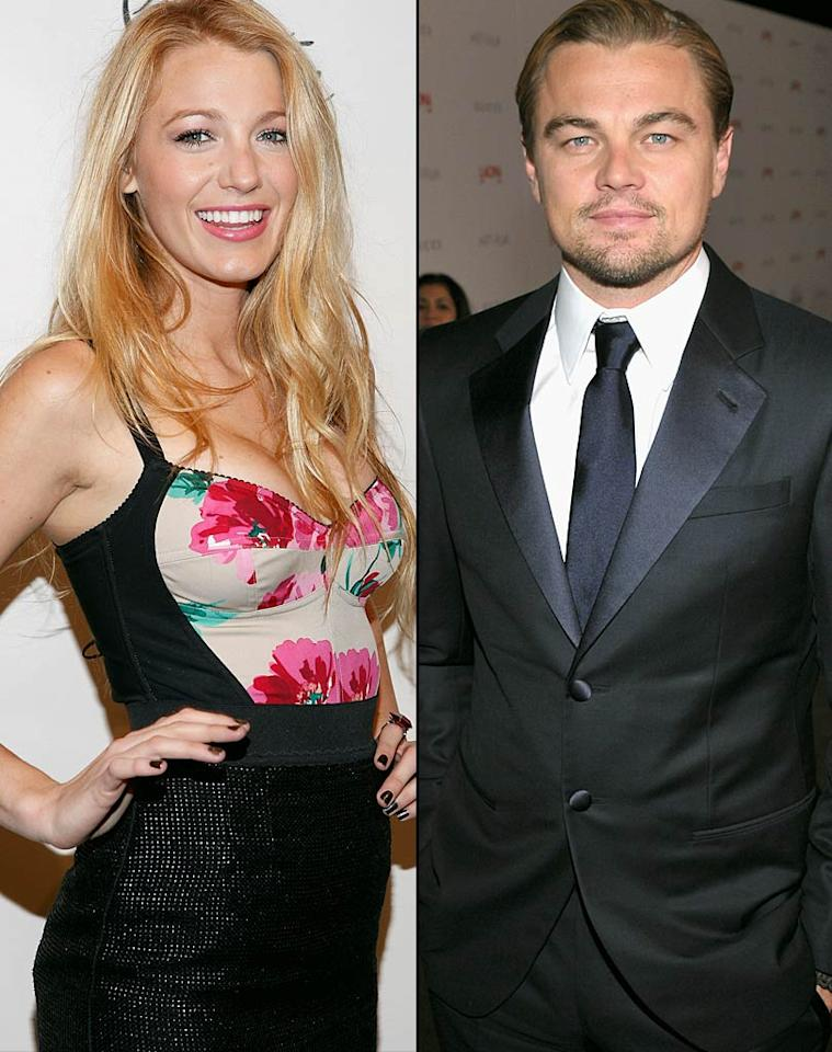 """Even though Blake Lively's dating Ryan Reynolds, <em>Star</em> reveals she's """"still carrying a torch"""" for ex-boyfriend Leonardo DiCaprio. The mag says Lively and DiCaprio are """"very much in touch,"""" and that """"she'd drop Ryan in a heartbeat if... Leo said, 'Let's get back together.'"""" For how Reynolds found out about Lively and DiCaprio's secret conversations, and when they'll start dating again, click over to <a href=""""http://www.gossipcop.com/blake-lively-leonardo-dicaprio-rekindling-contact-reuniting-ryan-reynolds/"""">Gossip Cop</a>."""
