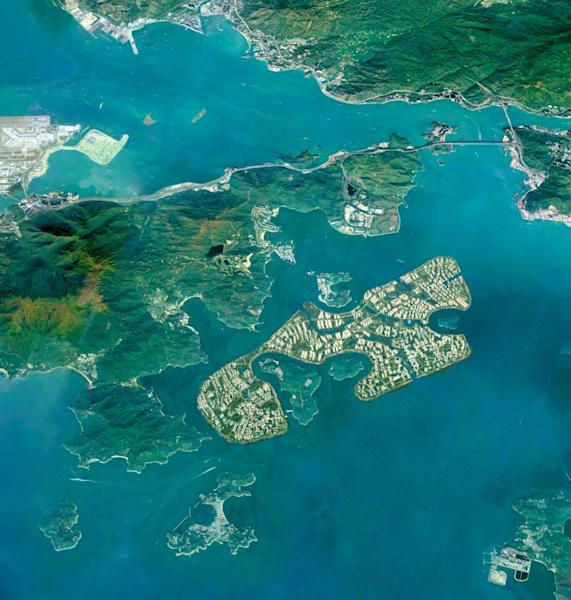 We never build what we can't afford, Hong Kong leader says amid criticism of 1,700 hectare artificial islands plan