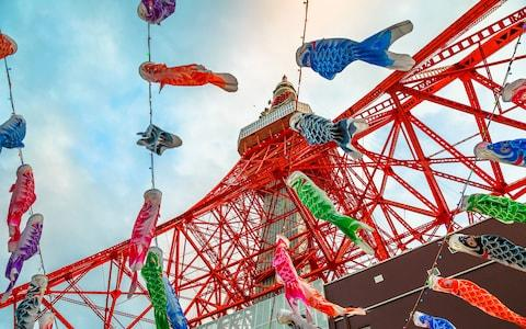 Decorations from Japan's Golden Week - Credit: Getty