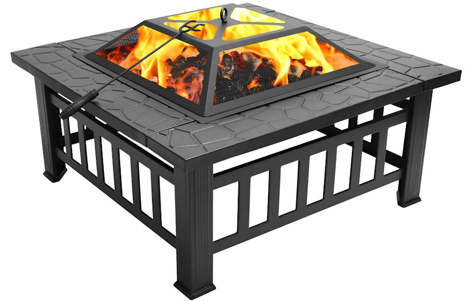 Ktaxon Homes and Gardens Outdoor Metal Fire Pit