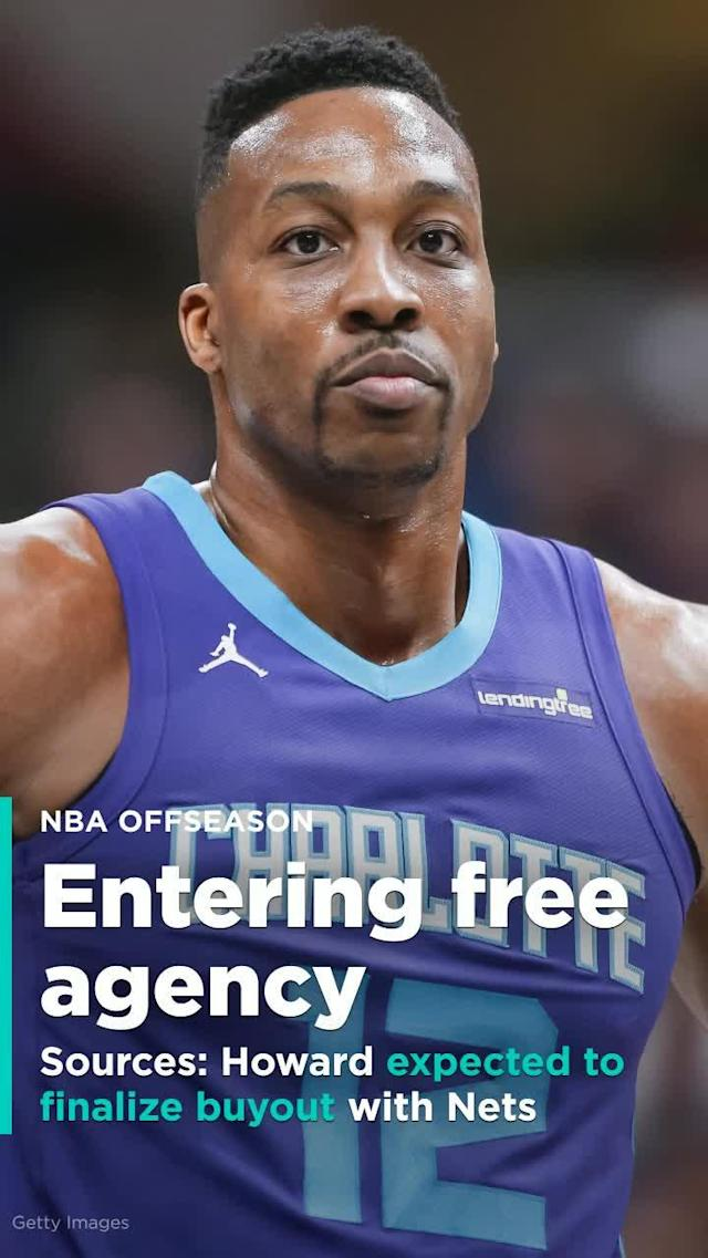 After being traded to the Brooklyn Nets, five-time NBA All-Star Dwight Howard is expected to finalize a buyout with the franchise and enter free agency in July, league sources told Yahoo Sports.