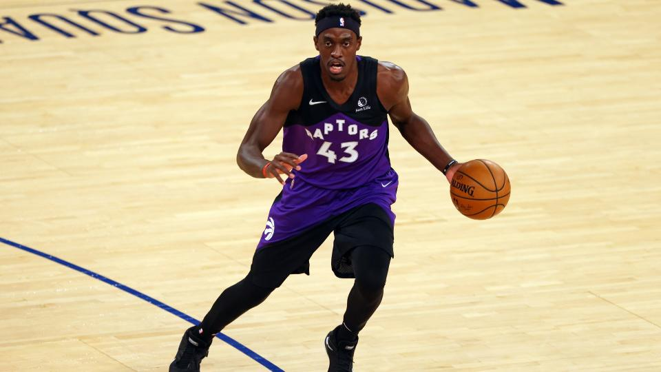 Pascal Siakam now has the contract and the status as the Toronto Raptors' go-to guy. (Photo by Rich Schultz/Getty Images)