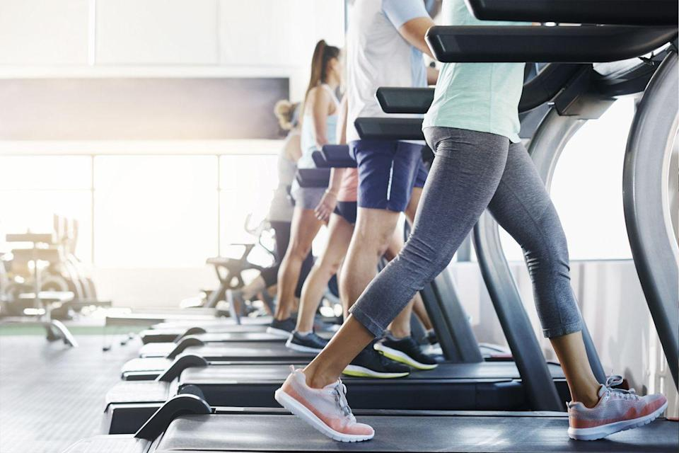 <p>If your gym has safely reopened, hop on the treadmill and do intervals: Go at an easy pace for a few minutes, then jack up the speed and incline for a few more before dropping back to an easy pace. Repeat as long as you like.</p>