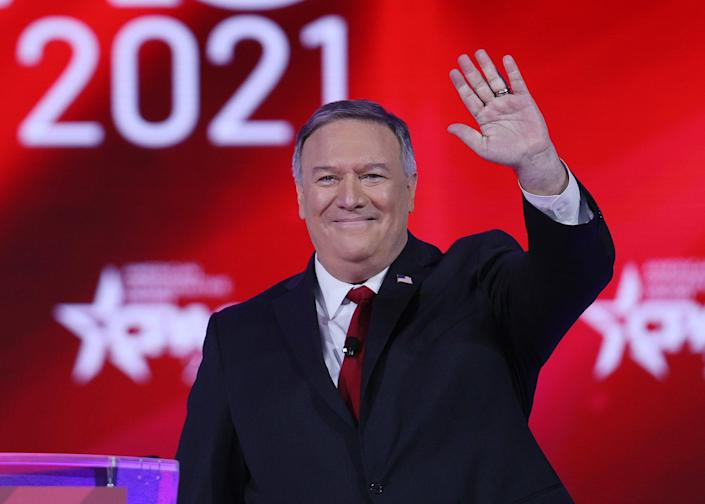 <p>Mike Pompeo, former US secretary of state</p> (Getty)