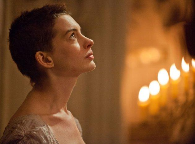 "Best Supporting Actress: Anne Hathaway Hathaway turned us to jelly in two minutes of song in ""Les Misérables"" – once she opened the spigot the tears flowed. That's a supporting performance!"