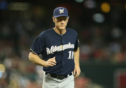Ron Roenicke has helped guide the Brewers to the best record in the NL. (Getty Images)