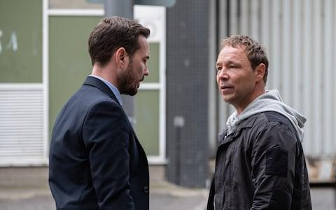 Martin Compston as Arnott and Stephen Graham as Corbett