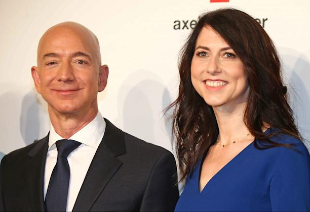 Amazon chief Jeff Bezos' new 'secret relationship' revealed after divorce announced