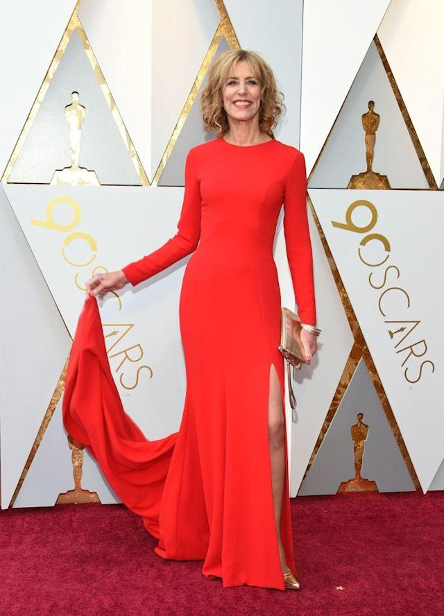 <p>Christine Lahti attends the 90th Academy Awards in Hollywood, Calif., March 4, 2018. (Photo: Getty Images) </p>