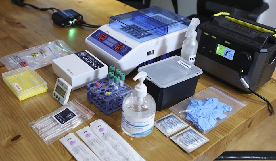 The Hong Kong government launched a two-week trial on October 28 for the rapid coronavirus test developed by a University of Oxford research team and owned by Prenetics. Photo: Dickson Lee