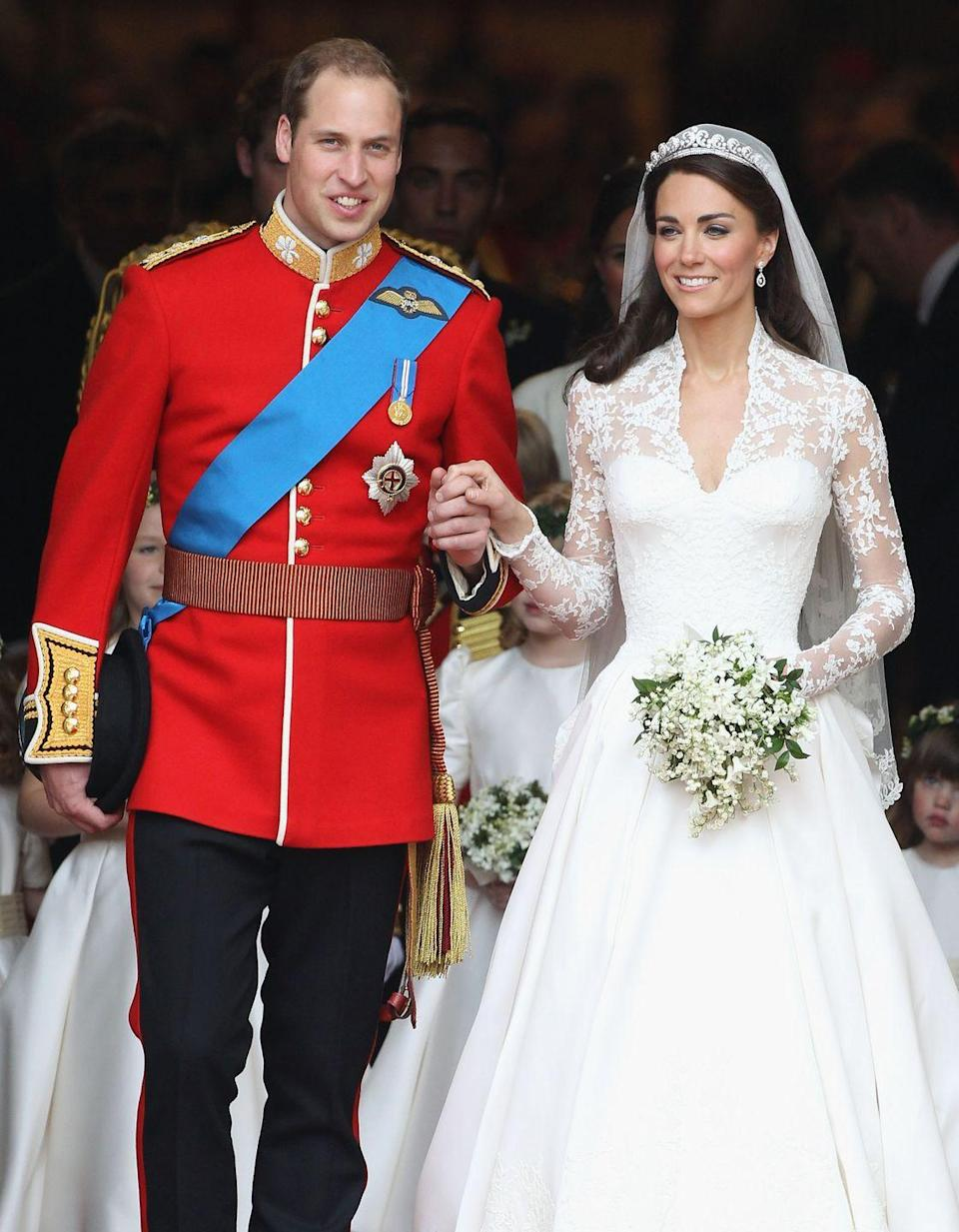 "<p>When you're a member of the royal family, you either go big or go home. This royal wedding cost $34 million, and almost all of it ($33 million) went to security, per <em><a href=""https://www.insider.com/royal-wedding-costs-2018-10#:~:text=Prince%20William%20and%20Kate%20Middleton's%20wedding%20cost%20a%20reported%20%2434%20million&text=It%20was%20estimated%20that%20security,dollars%2C%20according%20to%20ABC%20News."" rel=""nofollow noopener"" target=""_blank"" data-ylk=""slk:Insider"" class=""link rapid-noclick-resp"">Insider</a></em><a href=""https://www.insider.com/royal-wedding-costs-2018-10#:~:text=Prince%20William%20and%20Kate%20Middleton's%20wedding%20cost%20a%20reported%20%2434%20million&text=It%20was%20estimated%20that%20security,dollars%2C%20according%20to%20ABC%20News."" rel=""nofollow noopener"" target=""_blank"" data-ylk=""slk:."" class=""link rapid-noclick-resp"">.</a> </p>"
