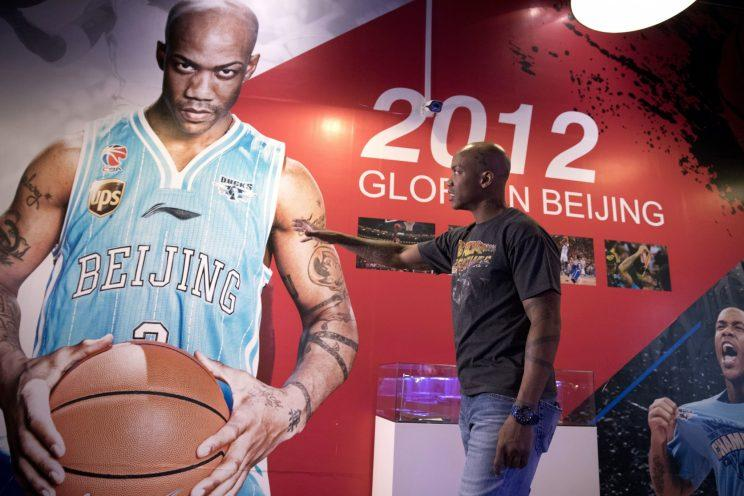 Stephon Marbury is larger than life in Beijing. (AP)