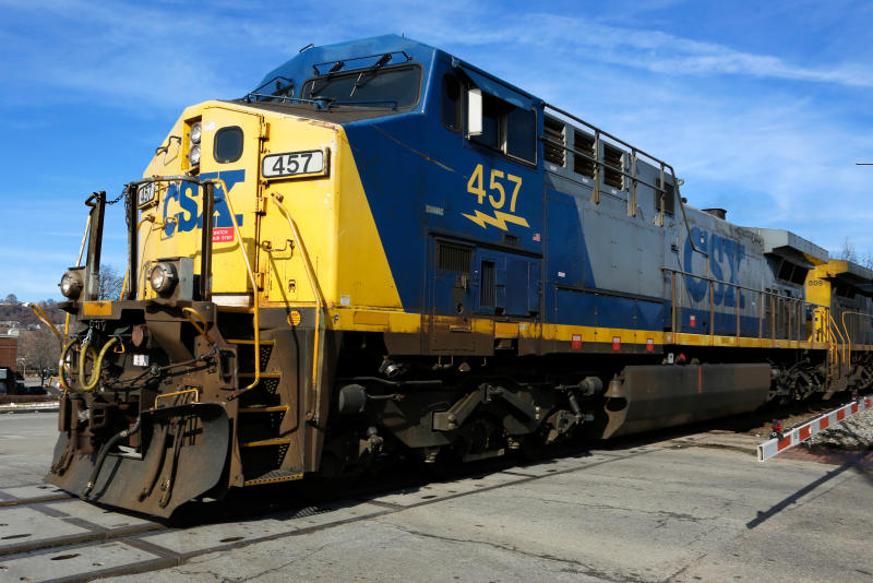 CSX Corp. doubles first-quarter earnings from 2017