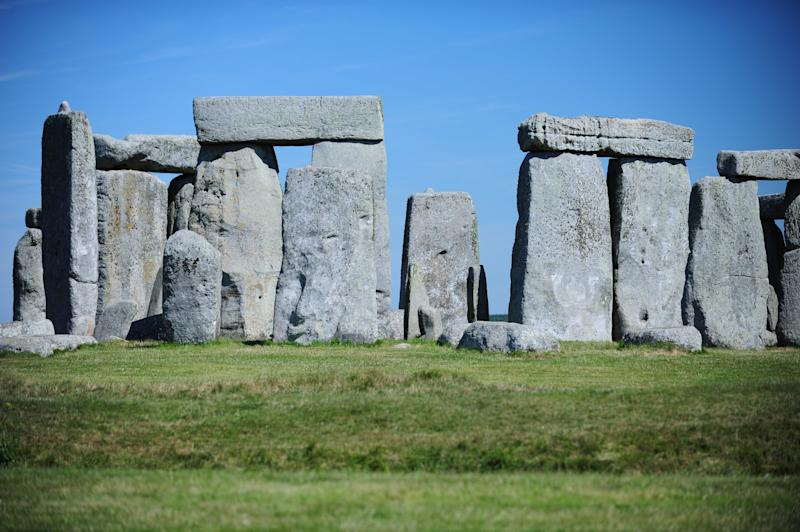 UNESCO World Heritage Site, Stonehenge in Wiltshire, England, pictured on July 10, 2014. (Photo by: Alex Milan Tracy/Sipa USA)