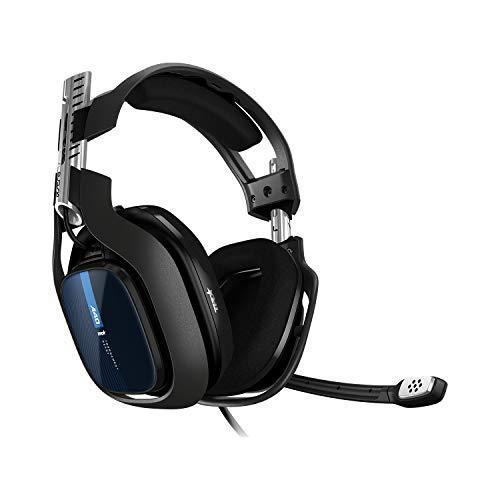 ASTRO Gaming A40 TR Cuffie Gaming Cablate, Gen 4, Astro Audio V2, Dolby Atmos, Jack Audio 3.5 mm, Microfono Intercambiabile, Xbox Series X/S, Xbox One, Ps5, Ps4, Pc, Mac, Switch, Mobile, Nero/Blu