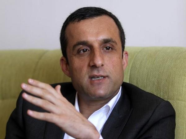 The First Vice President Amrullah Saleh