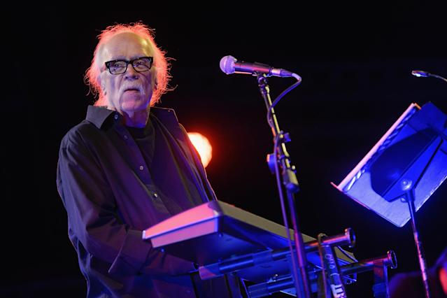 The director of the original  <i>Halloween</i> movie, John Carpenter, will bring his music stylings to the score of the 2018 film. (Photo: Daniel Boczarski/Redferns)