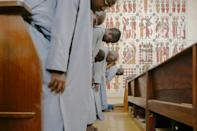 Around 35 monks live at the Keur Moussa monastery, some from across French-speaking Africa