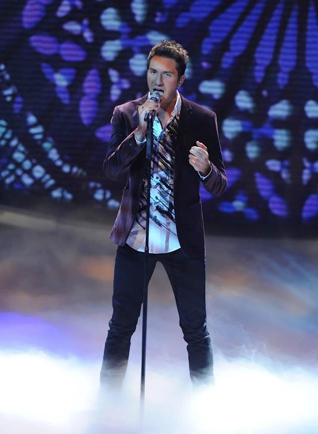 "Paul Jolley performs The Beatles' ""Eleanor Rigby"" on the Wednesday, March 20 episode of ""American Idol."""