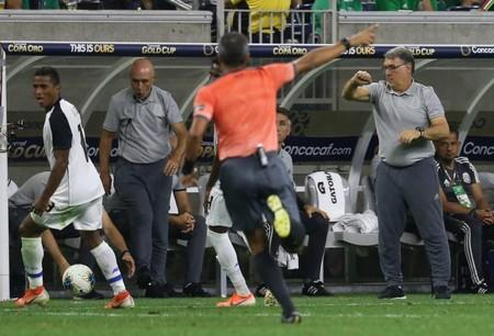 Soccer: CONCACAF Gold Cup-Mexico at Costa Rica