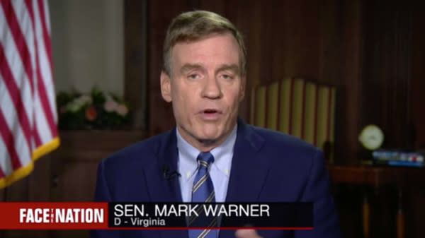 Mark Warner Says Senate Report On Russia Interference Won't Come Out Before Midterms