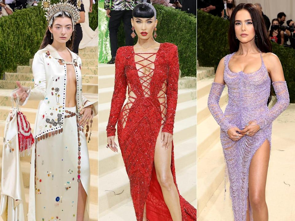Celebrities took major fashion risks at the 2021 Met Gala.