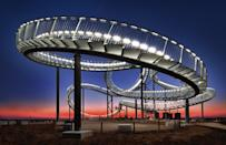 """""""Of the Tiger and Turtle"""" is a work of art on an industrial landmark. (Peter Mysticdidge Plorin, Germany, Shortlist, Architecture, Open 2013 Sony World Photography Awards) <br> <br> <a href=""""http://worldphoto.org/about-the-sony-world-photography-awards/"""" rel=""""nofollow noopener"""" target=""""_blank"""" data-ylk=""""slk:Click here to see the full shortlist at World Photography Organisation"""" class=""""link rapid-noclick-resp"""">Click here to see the full shortlist at World Photography Organisation</a>"""