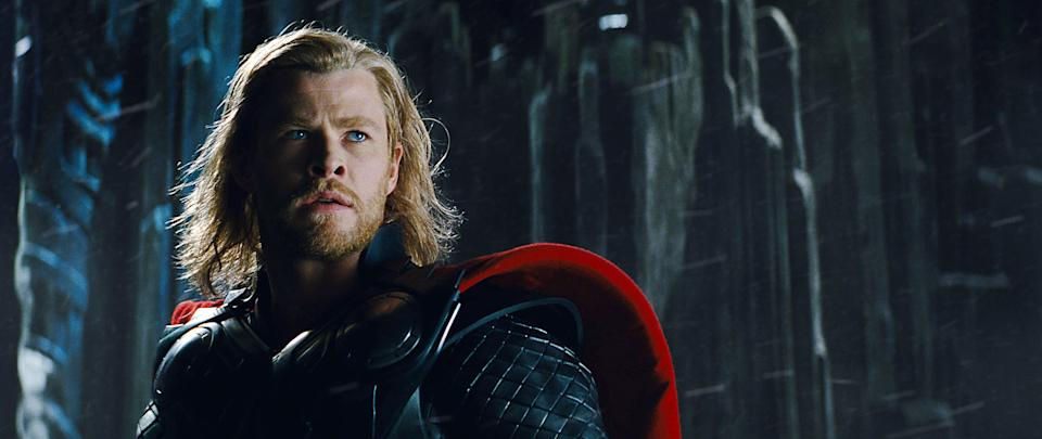 Chris Hemsworth as Thor in the character's first Marvel movie (Photo: Paramount Pictures/Courtesy Everett Collection)