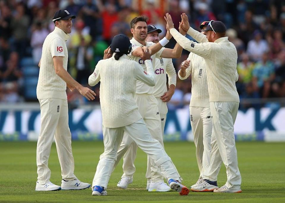 James Anderson took three wickets (Nigel French/PA) (PA Wire)