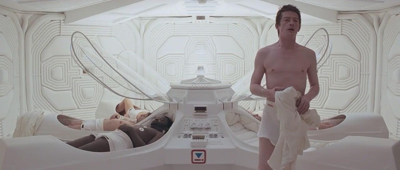 <p>Sir Ridley Scott's classic space horror is memorable for many, many reasons. The birth of screen icon Ellen Ripley is one, but the most talked-about scene (also a kind of birth) is where Hurt's Kane has a xenomorph burst out of his chest. </p>