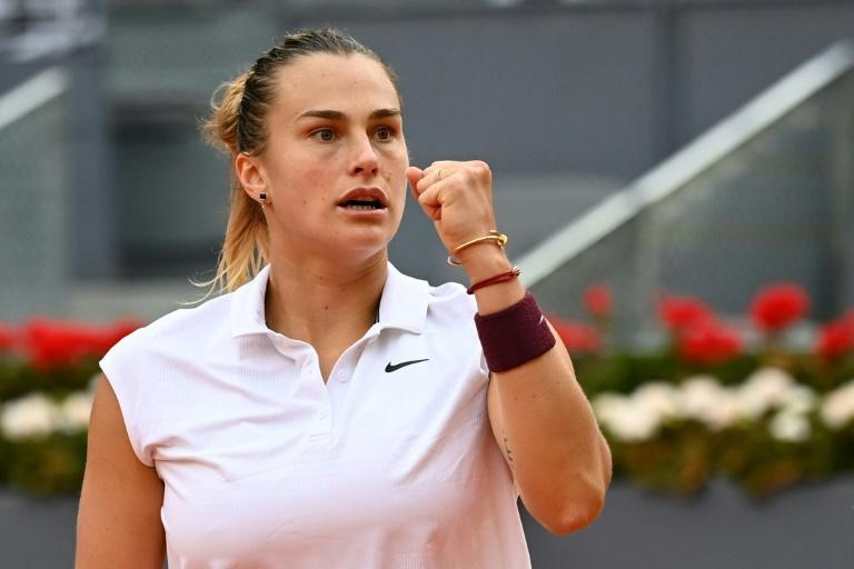 Belarus' Aryna Sabalenka beat world number one Ashleigh Barty to win the Madrid Open on Saturday.
