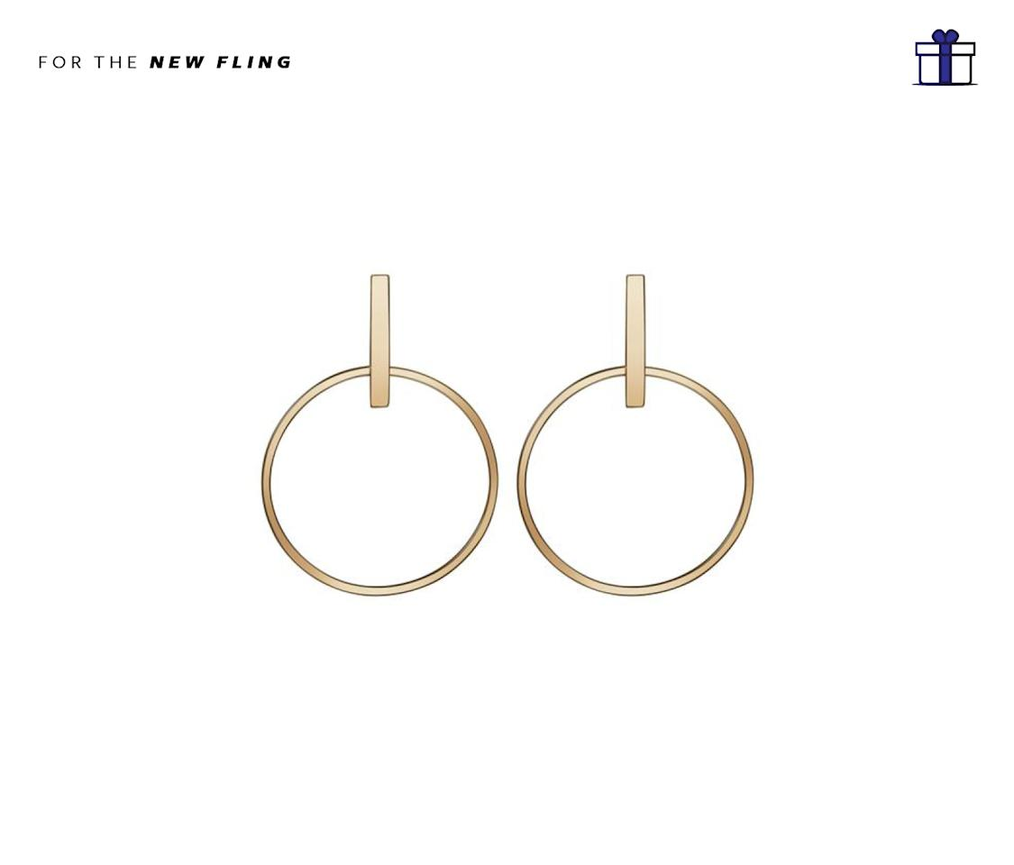 "<p>Every girl needs a beautiful set of gold earrings. AUrate Circle Earrings, $180, <a rel=""nofollow"" href=""https://auratenewyork.com/collections/earrings/products/circle-earrings"">auratenewyork.com</a> </p>"