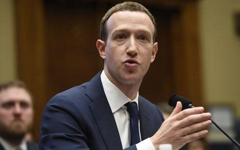 <span>Mark Zuckerberg appeared in front of US Congress and European lawmakers to give evidence about the Cambridge Analytica scandal but refused to appear in front of British MPs </span> <span>Credit: AFP </span>