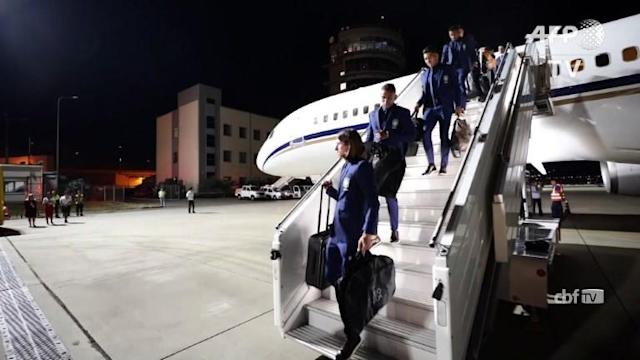 Neymar and his Brazil teammates land on Russian soil, fresh from beating Austria 3-0 in their final warm-up outing ahead of the World Cup.