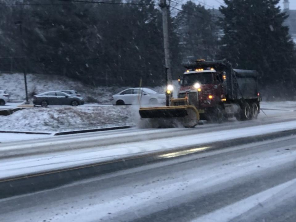 Heavy snow continues through the night into Friday for Nova Scotia