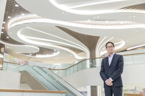 David Tang, property director of MTR Corp, says The Lohas will open 13 shops on Sunday, including a supermarket. Photo: Handout