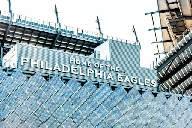 The Eagles' stadium will host a New Jersey playoff game after a shooting forced it to be suspended last week. (Getty Images)