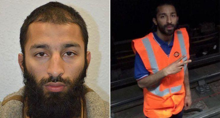 Khuram Butt worked for six months on the London Underground (Picture: Met Police)