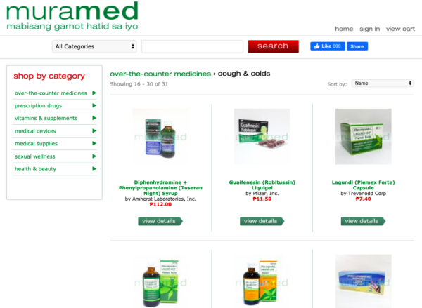 Online Drugstores in the Philippines - MuraMed
