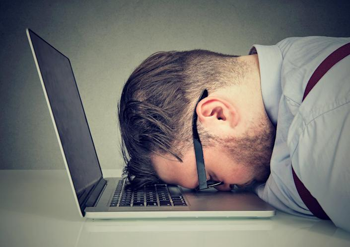 Just under 20 per cent of Americans surveyed said they are unhappy in their current job (Getty Images/iStockphoto)