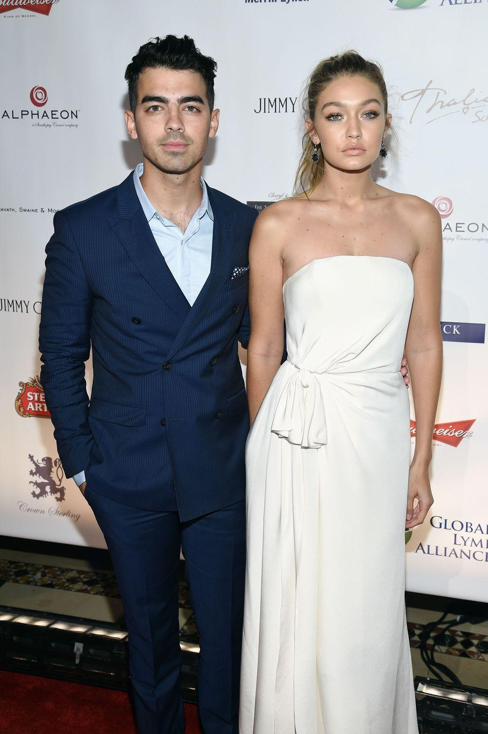 "<p><a href=""https://www.cosmopolitan.com/entertainment/celebs/news/a50032/zayn-malik-gigi-hadid-hold-hands-joe-jonas-unfollows/"" rel=""nofollow noopener"" target=""_blank"" data-ylk=""slk:Months after deleting a #squad photo"" class=""link rapid-noclick-resp"">Months after deleting a #squad photo</a> of himself, Zayn, and Kanye West at Paris Fashion Week on Instagram, Joe got candid about his ex Gigi and her boyfriend Zayn in an interview with <em><a href=""http://metro.co.uk/2016/04/24/joe-jonas-throws-shade-at-gigi-hadid-and-zayn-malik-it-was-very-quick-5837418/"" rel=""nofollow noopener"" target=""_blank"" data-ylk=""slk:The Daily Mirror"" class=""link rapid-noclick-resp"">The Daily Mirror</a></em>: ""I think it's interesting that she moved on so quickly, I mean it was definitely quick."" Ouch.</p>"