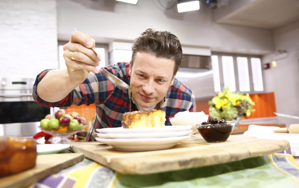 Chef Jamie Oliver is the author of several cookbooks, including <em>5 Ingredients: Quick and Easy Food</em>. (Photo: Getty Images)