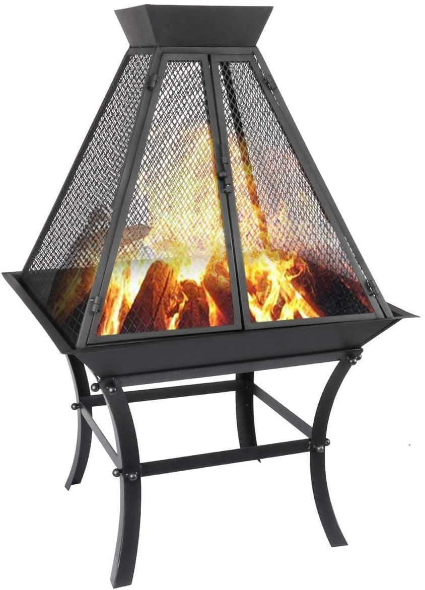 <p>After long, cold days, you'll have comfort knowing that you can come home to this warm <span>Fireplace Wood-Burning Fire Pit</span> ($113).</p>