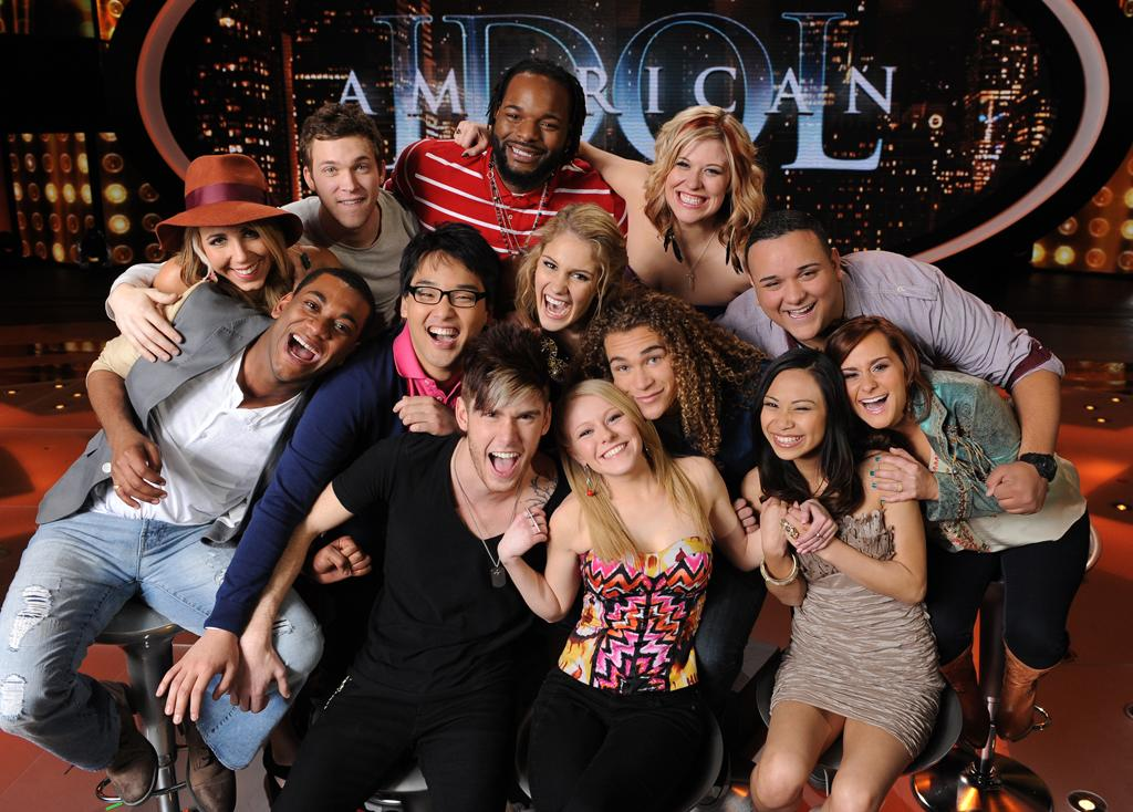 """During the first live results show of Season 11, """"<a href=""""http://tv.yahoo.com/american-idol/show/34934"""">American Idol</a>"""" revealed the Top 13 finalists: Jermaine Jones, Erika Van Pelt, Jeremy Rosado, Skylar Laine, Jessica Sanchez, DeAndre Brackensick, Hollie Cavanagh, Shannon Magrane, Colton Dixon, Heejun Han, Joshua Ledet, Elise Testone, and Phillip Phillips.<br><br>  America voted for the Top 10 and then in a dramatic wild card round, judges Randy Jackson, Jennifer Lopez, and Steven Tyler chose DeAndre, Jeremy, and Erika to continue in the competition."""