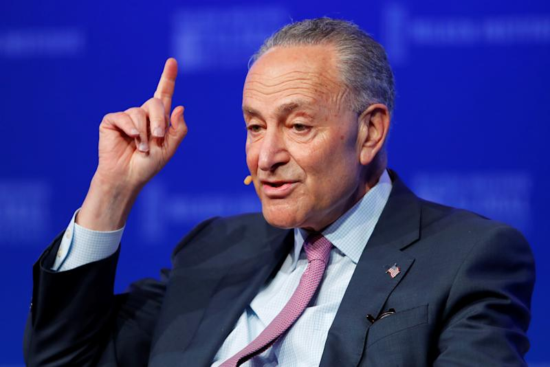 Schumer Wants Trump to Redirect $5B in Border Money to Gun Initiatives