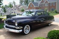 <p>Arguably the most famous face of the hot-rod craze, the '49 Mercury immediately became the ride of choice for wild, top-chopping customizers.</p>