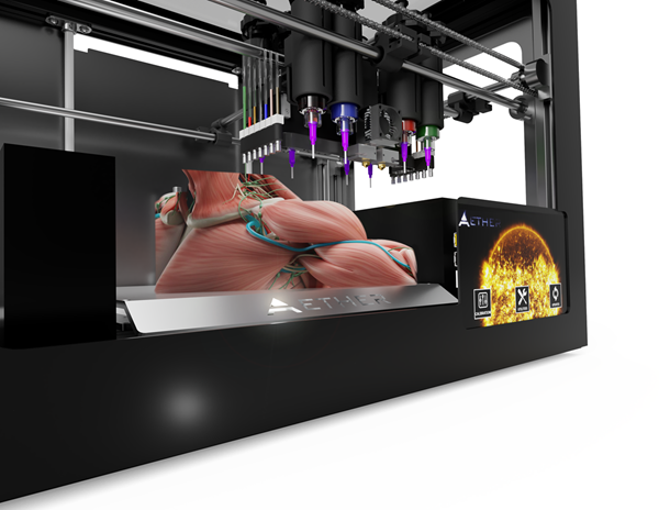 Aether 3D Bioprinter:Aether 1 3D Bioprinter: The ultimate tool for those who want to Make History