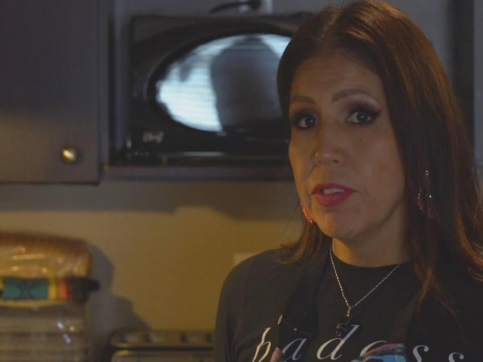 Tasha Tanya Jacko is an Anishinaabe living in Chilliwack, B.C., who is using Thanksgiving as a time to honour her Indigenous culture and teachings.  (Gordon Loverin/CBC - image credit)