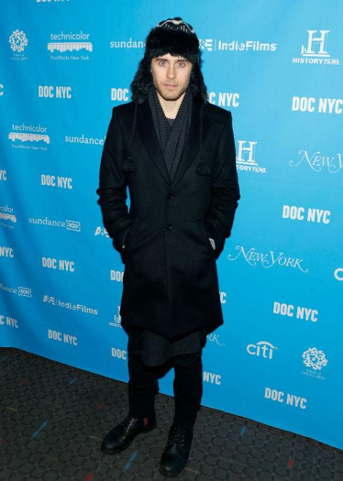 <b>Jared Leto:</b> Actor and musician Jared Leto's penchant for changing things up is evident, but more often than not, it's the fashion misses that outnumber his fashion hits. His ensemble, if you will, is downright confusing and vague, as he attended the NYC Documentary Festival Opening Night Screening Of 'Artifact' at SVA Theater on November 8, 2012 in New York City.